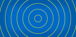 Blue background image with concentric circles